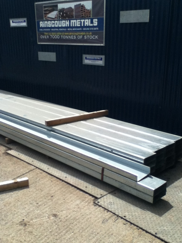 New c Purlins 171mm Deep - 6.090 Mtr Length - Side Purlins - Cladding Purlins