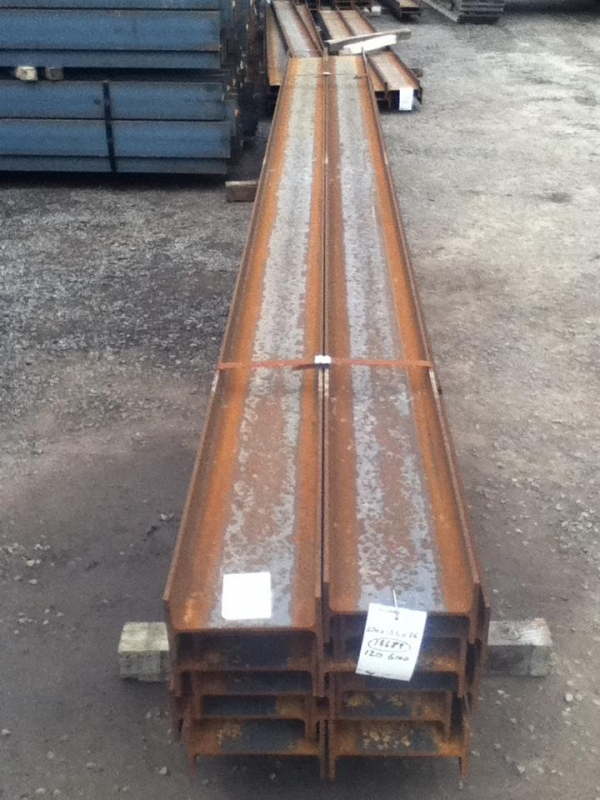 6.000/6.100mtr 270mm x 135mm x 36.1kg/m Steel Ipe - New