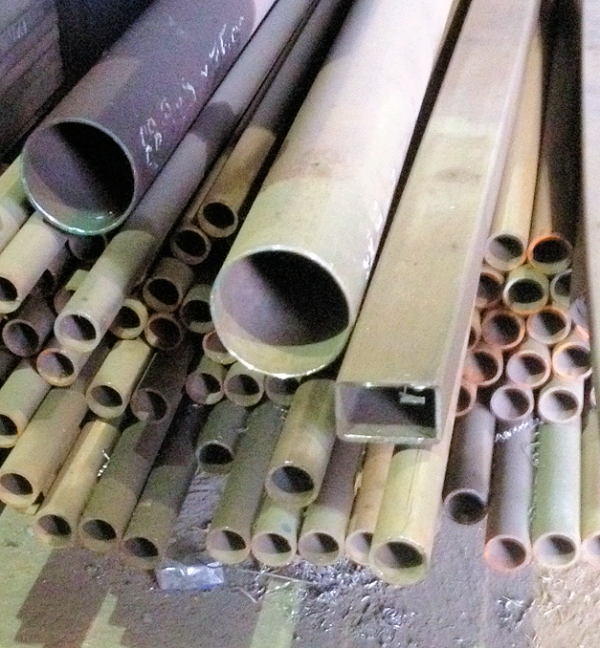 12.000 Mtrs 51mm Diameter  Steel Tube (3.2mm Thick) Drainage - Water Pipe