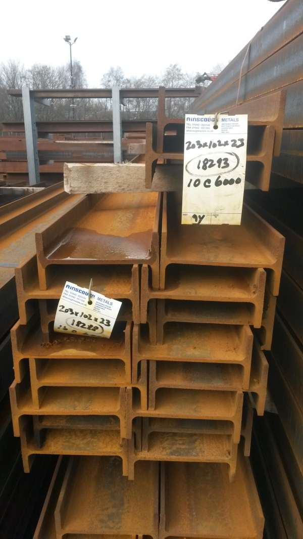 6 000 Mtrs 203mm X 102mm X 23 1 Kg M Steel Beam Ub New