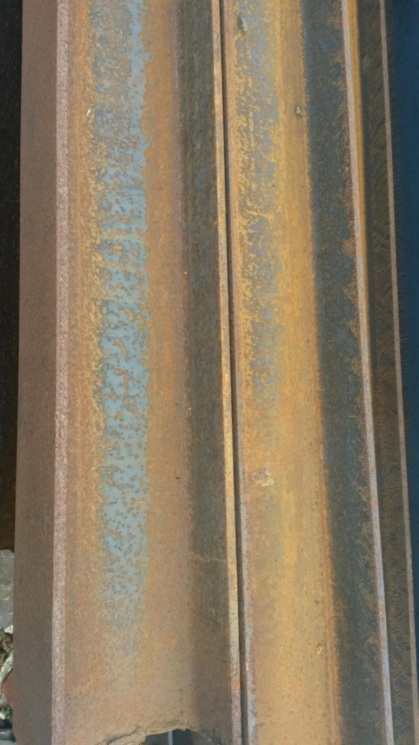 9 540mtr 152mm X 152mm X 30 4 Kg M Steel Column New Steel