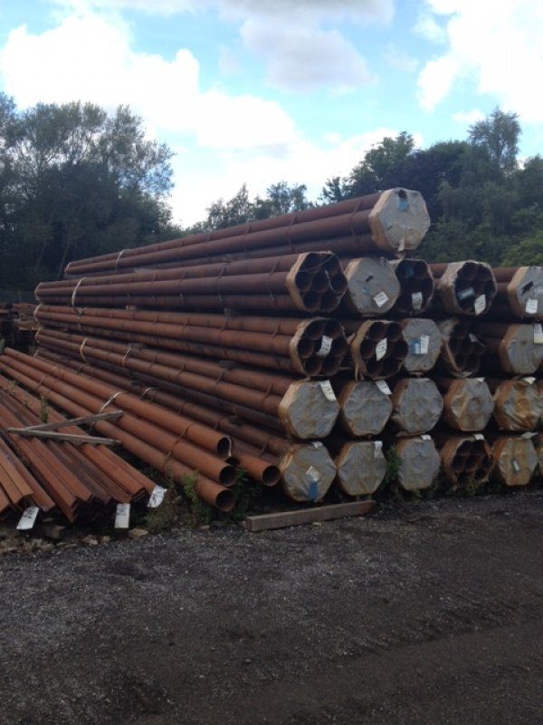10.000 Mtr Lengths of 168.3mm x  4 mm  Unused Tube Varying Atmospheric Rust Drainage - Water Pipe