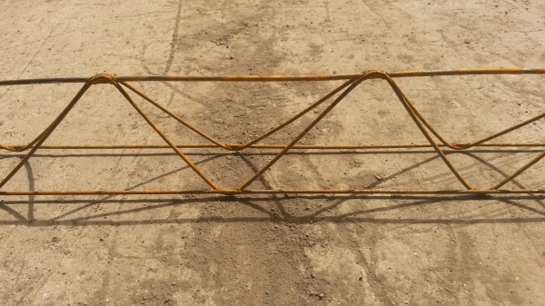 90mm Lattice Wire Chair Spacer 2.000mtr Long