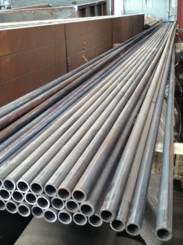 7 6mtr Lengths Of 26 9mm X 3mm Unused Clean Steel Tube Chs
