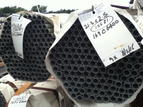 6.400 Mtrs Unused Galvanised 21.3mm Diameter  Steel Tube (2.5mm Thick) Drainage - Water Pipe
