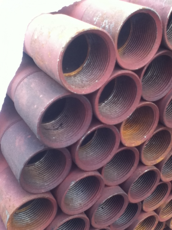6.400 Mtr Lengths of 42.4mm x   3.2mm Unused Painted Slight Rust Steel Tube - Chs Drainage - Water Pipe