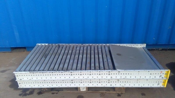 2.000 Mtr Long Conveyor - Comes With Collection Tray/plate Gravity Roller Conveyor