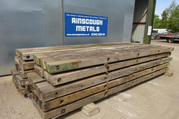 Used Hardwood Timber / Crane Mat 5.000mtr x 1.000mtr x 150mm