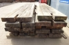 Bundle of 10 no Used Hardwood Timber / Crane Mats 5.000mtr x 1.000mtr x 150mm