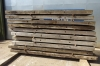 Bundle of 10 no Used Hardwood Timber / Crane Mats 3.500mtr x 1.000mtr x 140mm
