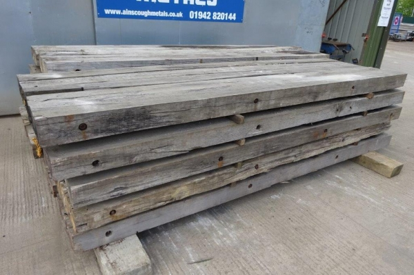Used Hardwood Timber / Crane Mat 3.500mtr x 1.000mtr x 140mm