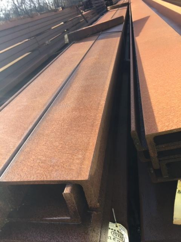 12.200mtr Long 200 mm x 90mm x 29.7 Kg/m Unused Stock Rusty Pfc - Channel - For Transport Purpose Length Would Need to be Cut to 8mtr Max