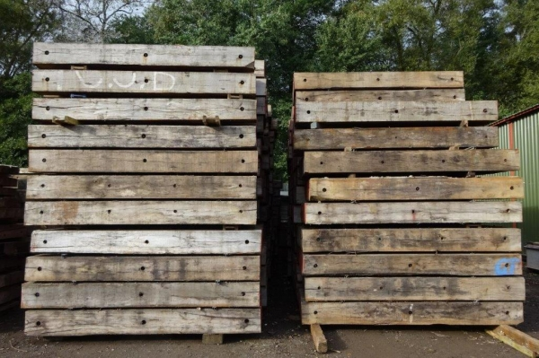 Used Hardwood Single Timber 3.050 Mtr x 300mm x 200 mm