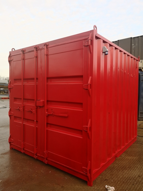 10 ft Long 8 ft Wide  Rigging Loft / Tackle Store / Steel Storage Container Bespoke - Made to Order - Store
