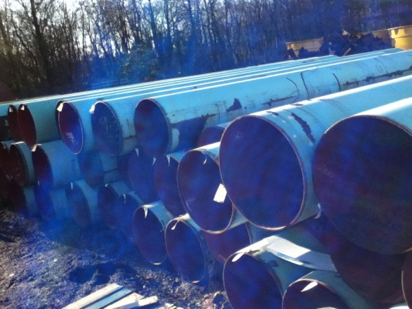 9 245mtr Lengths Of 1067mm X 15mm Wall Used Steel Tube