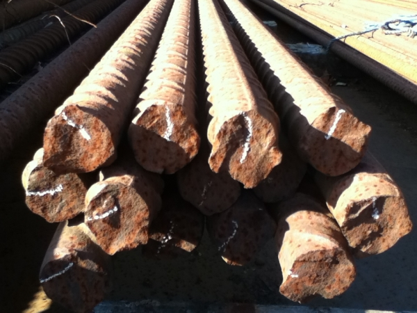 6 000mtr Length 40mm Unused Stock Rusty Rebar